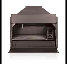 Home Fires Braai BI1000 inbouw model - barbecue op hout