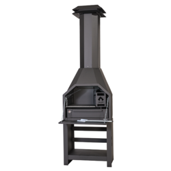 Barbecue prêt à poser Braai FS800 avec meuble