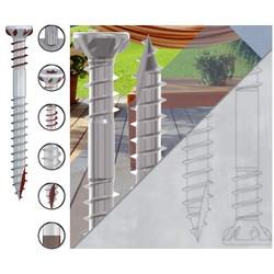 Vis inox terrasse bois 5x70mm