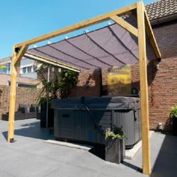 Waterproof retractable canopy 200x300cm