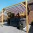 Garviks Teflon waterproof retractable canopy 200x500cm