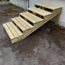Vinuovo Gardens stairs kit ready to assemble -  3 steps XL H42cm