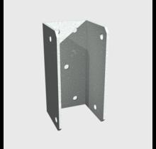 Montagebeugel met schroeven voor trapbalk