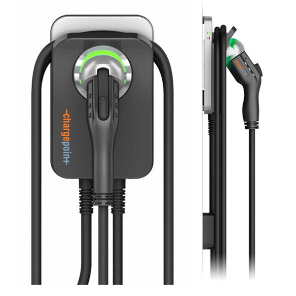 ChargePoint Home laadpunt met Type 1-kabel - 1 fase 32A (6 of 8 meter)