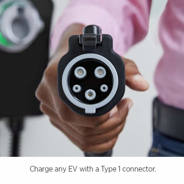 ChargePoint Hausladestation mit Typ 1 Kabel - 1 Phase 32A (6 oder 8 Meter)