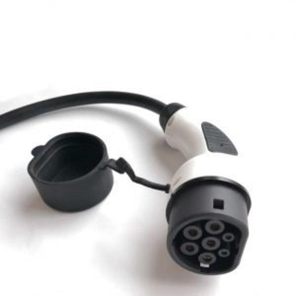 Khons Chargeur portable type 2 avec prise rouge CEE - 32A triphasée | 6m