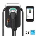 ChargePoint Hausladestation mit Typ 2 Kabel - 1 Phase 32A (6 oder 8 Meter)