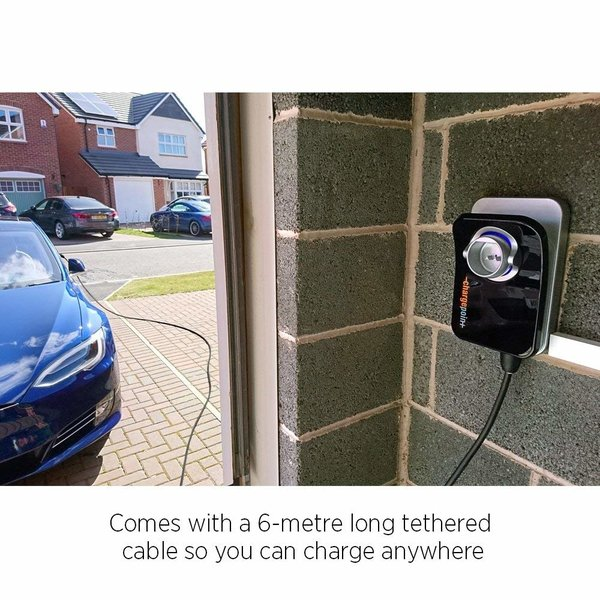 ChargePoint Home laadpunt met Type 2-kabel - 1 fase 32A (6 of 8 meter)
