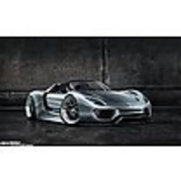 Charge cables and charge stations for Porsche 918 Spyder