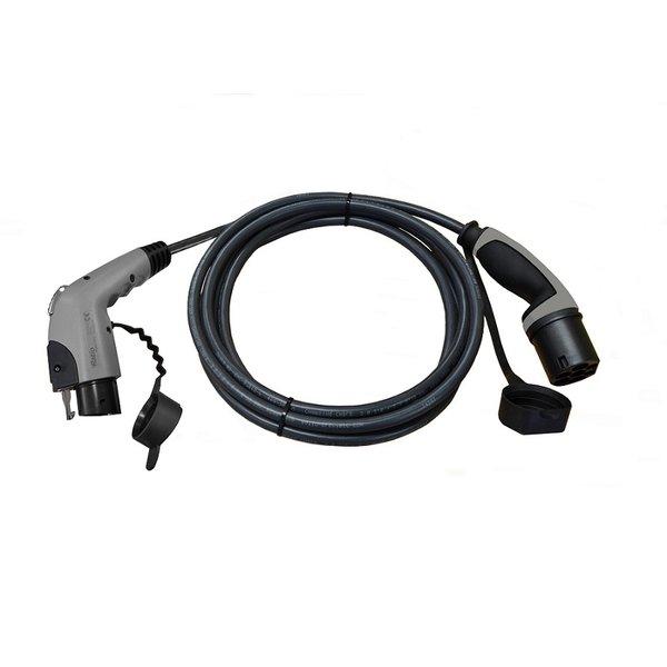 Ratio Type 1 - Type 2 Câble de charge 32A 1 phase  | 4m-6m-8m