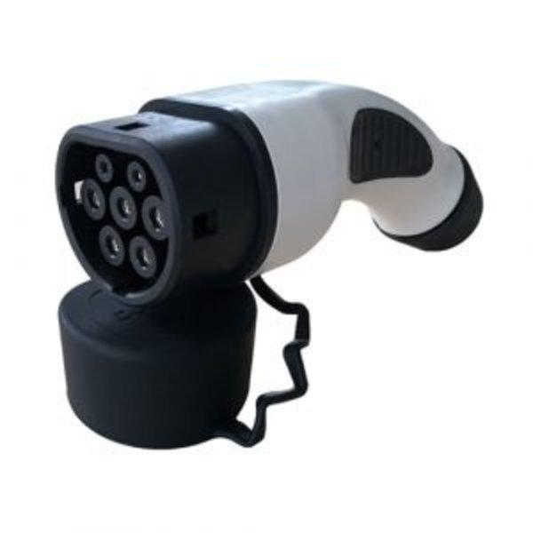 Type 2 Portable Laadpunt met Stekker voor normaal stopcontact  | 10A, 1 fase | 5m