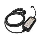 Chargeur portable de type 2 pour prise normale (Shuko) - 10 A, 1 phase | 10 mètres