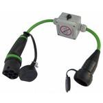 Ratio Adapter Type 2 laadpunt naar normaal stopcontact (Shuko)