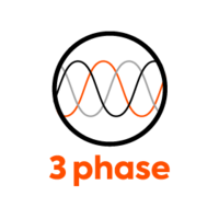 Up to 3 phases - 32A