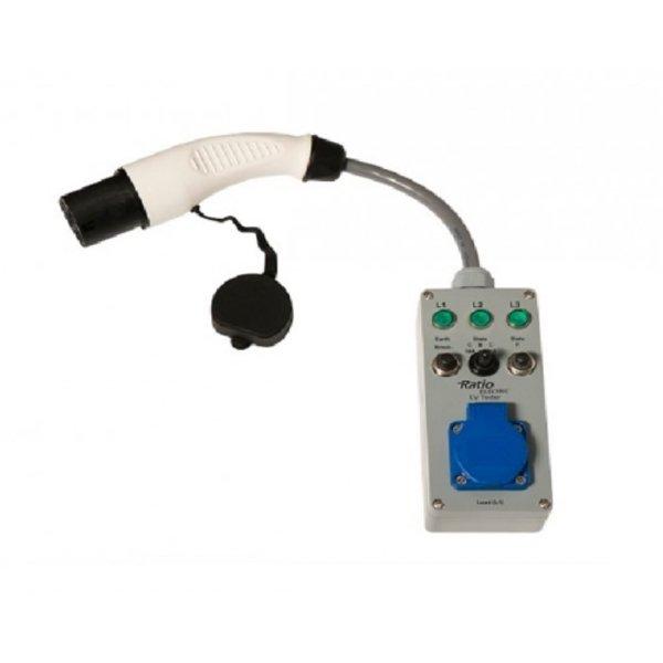 EV Laadpunt tester voor laadpunten met stopcontact
