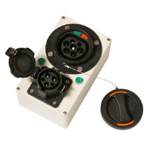 EV Laadpunt tester voor laadpunten met vaste kabel