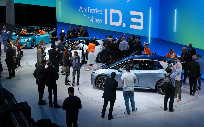 Top 5 elektrische auto's op de IAA 2019