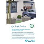 Alfen Pro-line with 5-8 meter fixed type 1 cable - 1 phase 32A