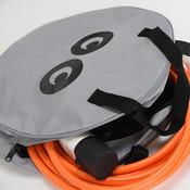 Aufbewahrungstasche für Ladekabel mit oder ohne Logo