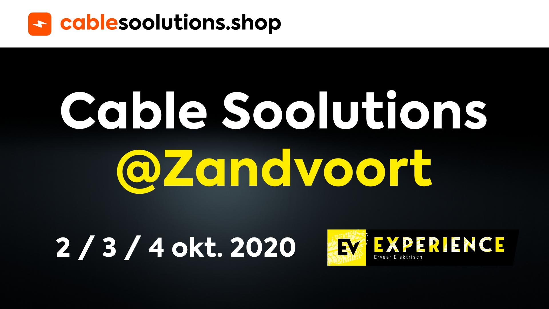 Soolutions aanwezig bij EV Experience Zandvoort!