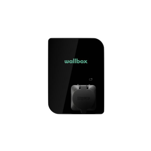 Wallbox Copper SB avec prise type 2 - jusqu'à 3 phases max. 32A