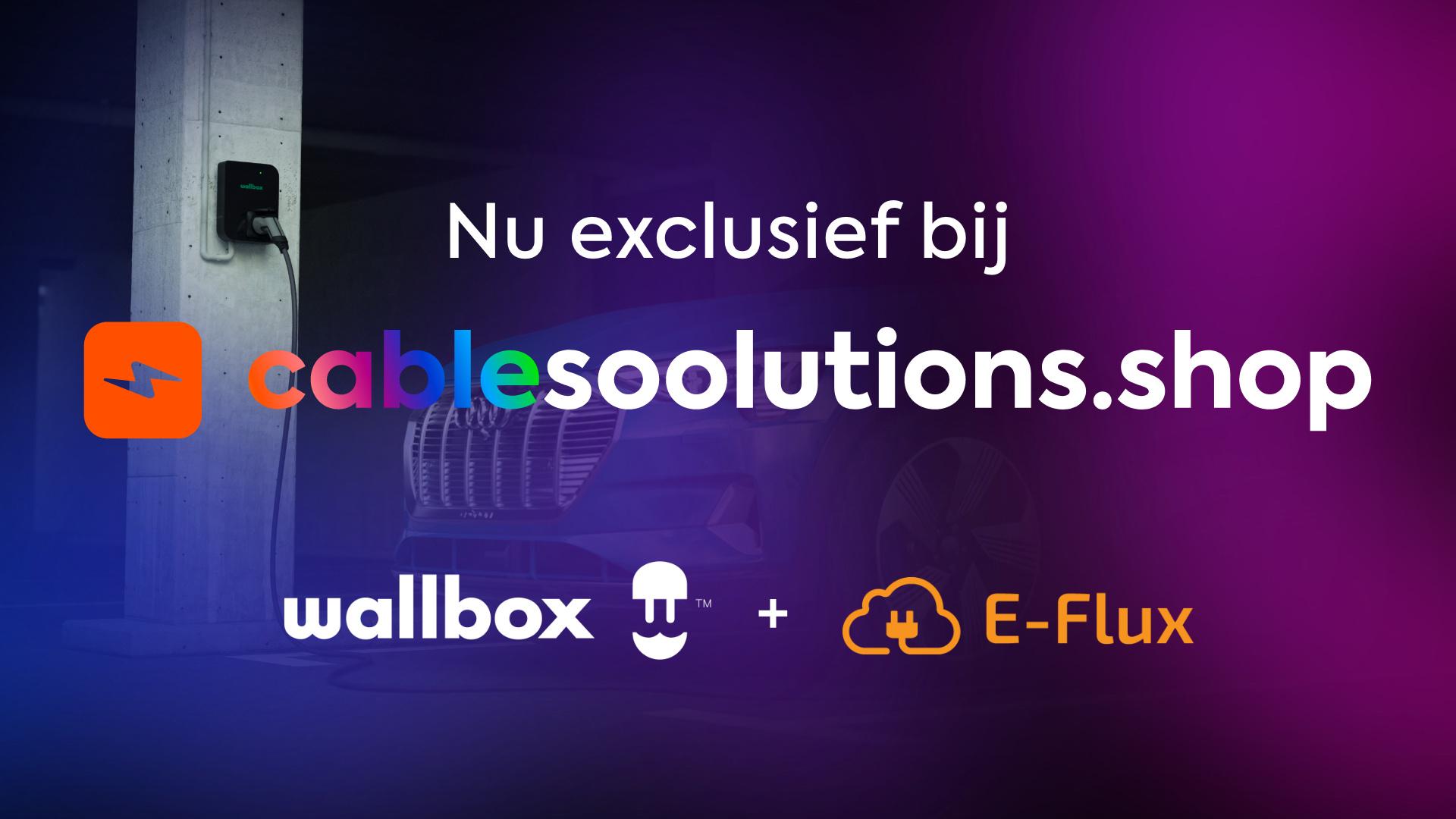 Soolutions, Wallbox en E-Flux bundelen krachten