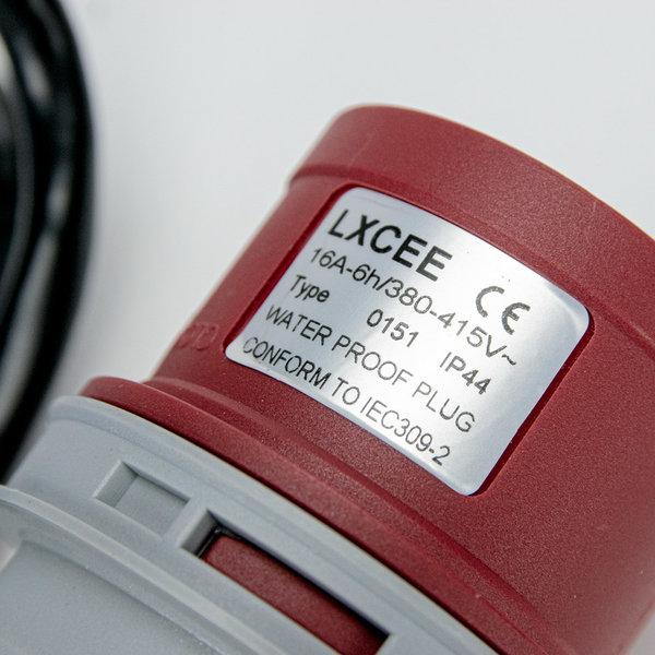 Soolutions CEE rot 16A (männlich) auf Schuko (weiblich)