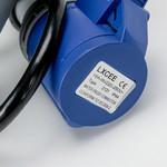 Soolutions rouge CEE 32A (mâle) au bleu CEE 16A (femelle)