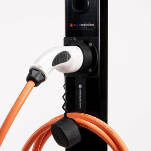 Kabel houder en hanger for type 2 kabels
