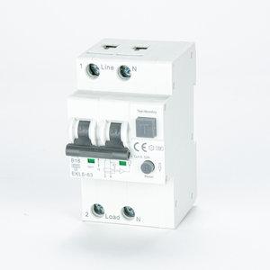 ETEK Disjoncteur à courant résiduel avec protection contre les surintensités