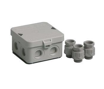Universele Kabeldoos met deksel IP65 - 95x95x45mm