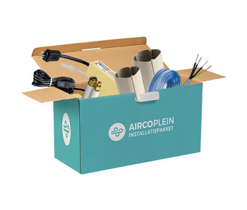Airco installatiepakket gevelopstelling
