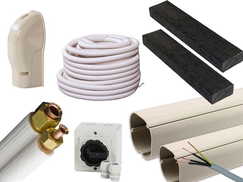 Airco installatiepakket vloeropstelling