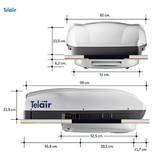 Telair Silent 7400H dak airco
