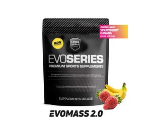 HSN EVOMASS 2.0 (MASS GAINER) | STRAWBERRY BANANA