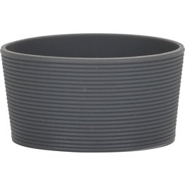 Silikonbanderole für Coffee to Go Becher grau, zu 0,3L