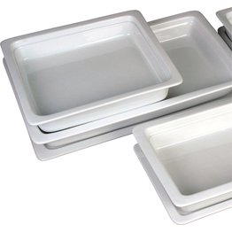 GN-Behälter, Porzellan, 65mm tief 1/1 GN