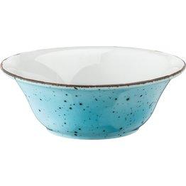 "Porzellanserie ""Granja"" aqua Schüssel, 18,5 cm"