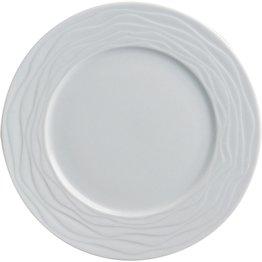 """Hotelporzellan """"Curved"""" Teller Dessert/Suppen untere, 17,5 cm"""