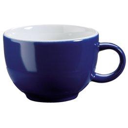 Kaffee-/Cappuccinotasse obere blau
