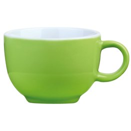Kaffee-/Cappuccinotasse obere limette
