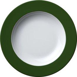 Teller tief Ø 22,5 cm grün