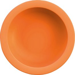 "Teller tief ""Colour"" Ø21,6cm 500ml PBT orange"
