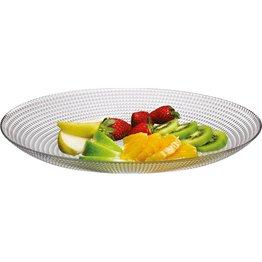 "Glasserie ""Generation"" Platte oval 33x25cm"