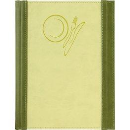 """Speisenkarte """"Culinaria"""" A5 moosgrün-limette"""