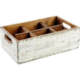"""Tischbox """"Vintage"""" 6 Fächer"""