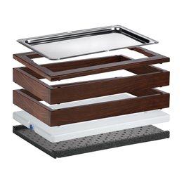 "Modul ICE ""Wood"" Buche dunkel 13cm"