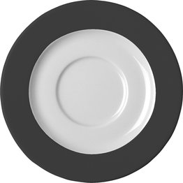 Serie 'System color' schwarz, Tasse untere Kaffee Ø15cm