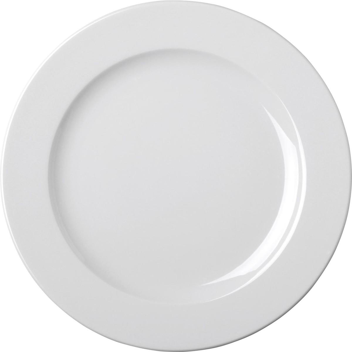 Teller flach Ø 28 cm weiß