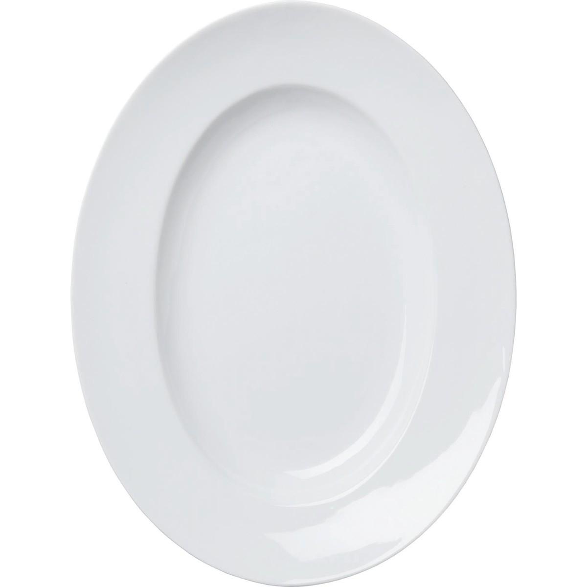 "Teller ""Ovali"" oval, groß"